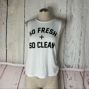 Private Party So Fresh Clean Tank Top S